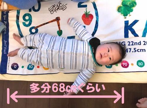 赤ちゃんの体重身長